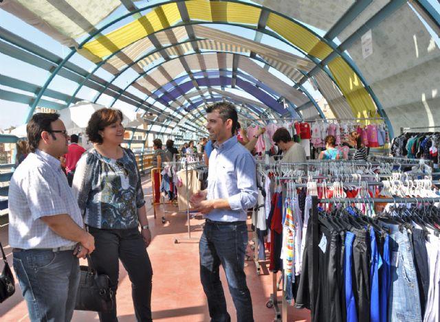 ASEPLU y el Ayuntamiento organizan el Mercadillo 'Comercio Lumbrerense' para fomentar la actividad de los comercios locales - 1, Foto 1