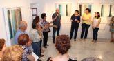 Inaugurada la exposición 'Paisaje vertical' del artista lumbrerense José García en la Casa de los Duendes