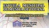 La Escuela Municipal de Música celebra las audiciones de final de curso 2014/15 durante las dos próximas semanas