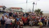 Los hogares del pensionista celebran el fin de curso con una excursión en barco por el Mar-Menor