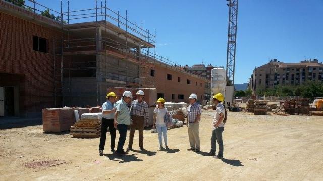 Educación comprueba la evolución de las obras de ampliación del colegio Juan XXIII de Murcia que prevé concluir para el inicio del curso - 1, Foto 1