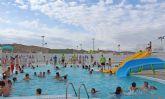 Las piscinas de verano abren sus puertas en Puerto Lumbreras