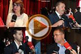 Declaraciones tras el acto institucional de constitución de la nueva Corporación municipal del Ayuntamiento de Totana para la legislatura 2015/19