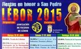 Las fiestas de Lébor se celebrarán del 26 al 28 de junio en honor a San Pedro