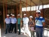 El nuevo colegio público de la pedanía murciana de Puebla de Soto estará concluido para el segundo trimestre del próximo curso