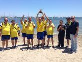 FEAFES Salud Mental Región de Murcia despide su liga con fútbol playa en Santiago de la Ribera