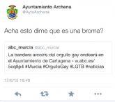 El PSOE de Archena denuncia la actitud homófoba del ayuntamiento de Archena en twitter