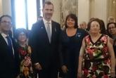 La totanera Naca Eulalia Pérez de Tudela Cánovas recibe la condecoración de la Orden del Mérito Civil