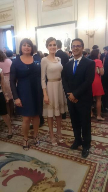 The totanera Naca Eulalia Perez de Tudela Canovas receives the medal of the Order of Civil Merit, Foto 1
