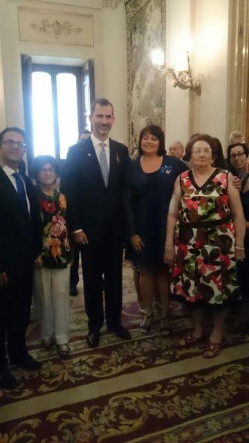 The totanera Naca Eulalia Perez de Tudela Canovas receives the medal of the Order of Civil Merit, Foto 2
