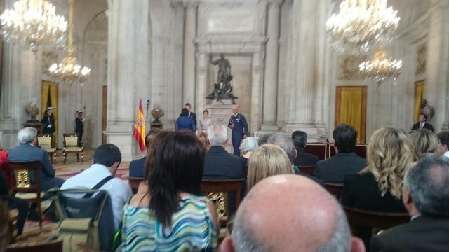 The totanera Naca Eulalia Perez de Tudela Canovas receives the medal of the Order of Civil Merit, Foto 3