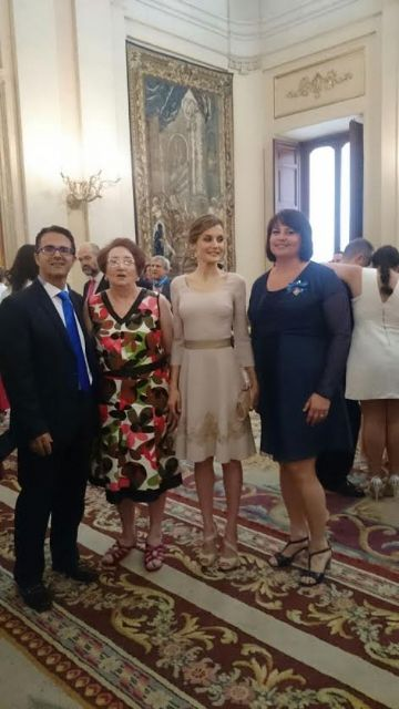 The totanera Naca Eulalia Perez de Tudela Canovas receives the medal of the Order of Civil Merit, Foto 4