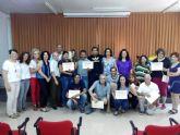 Diecisiete alumnos han finalizado el curso Habilidades en Jardinería y Viveros en Molina de Segura