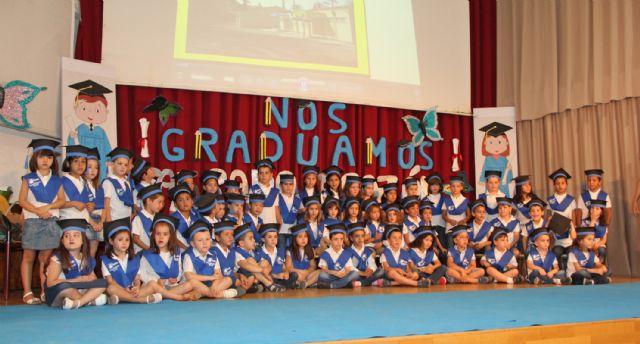 Más de 1.500 escolares de Puerto Lumbreras celebran sus graduaciones y fiestas fin de curso 2015 - 2, Foto 2