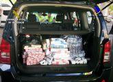 La Guardia Civil y la Agencia Tributaria aprehenden 1.500 cajetillas de tabaco de contrabando