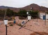 Agricultura instala una nueva estación del Sistema de Información Agrario en el paraje de  La Loma del Aire, en Ojós