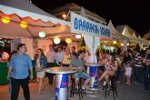 Las barracas populares comienzan las Fiestas Patronales con la música en directo de Momo