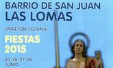 Las fiestas del barrio de San Juan en Las Lomas de El Paretón se celebrarán los días 24 y del 26 al 28 de junio