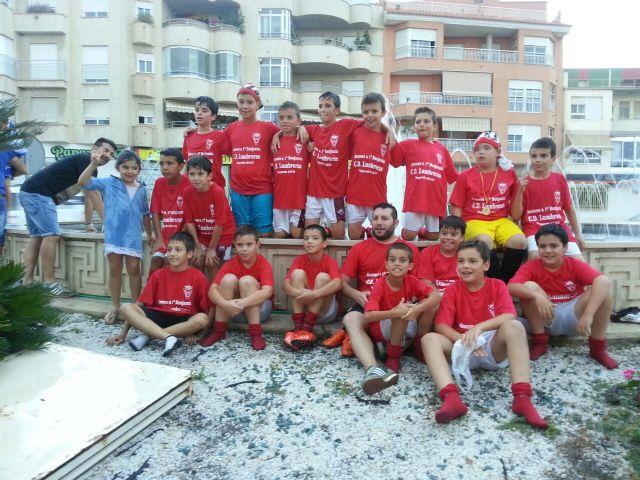 Los benjamines del Club Deportivo Lumbreras consiguieron el ascenso a primera categoría - 2, Foto 2
