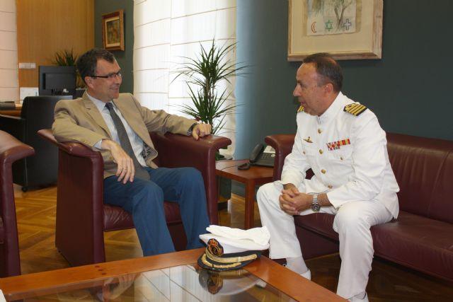 El Alcalde se entrevista con el Delegado de Defensa - 1, Foto 1