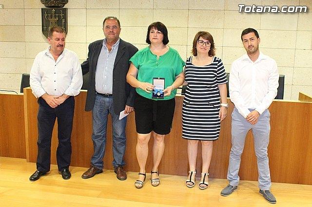 El Ayuntamiento hace un reconocimiento p�blico a la totanera, Naca P�rez de Tudela, Foto 1