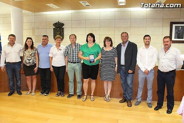 El Ayuntamiento hace un reconocimiento p�blico a la totanera, Naca P�rez de Tudela, Foto 2