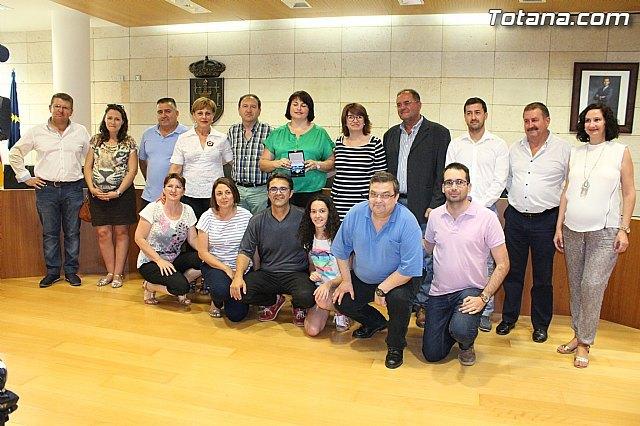 El Ayuntamiento hace un reconocimiento p�blico a la totanera, Naca P�rez de Tudela, Foto 3