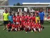 Los benjamines del Club Deportivo Lumbreras consiguieron el ascenso a primera categoría
