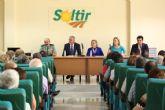Luengo destaca la importancia del sector agrícola en la clausura de la Asamblea General de la cooperativa Soltir