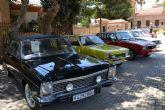 Concentración de vehículos Clásicos en el entorno del museo Barón de Benifayó