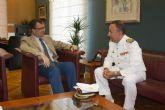 El Alcalde se entrevista con el Delegado de Defensa
