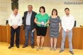 El Ayuntamiento hace un reconocimiento público a la totanera, Naca Pérez de Tudela