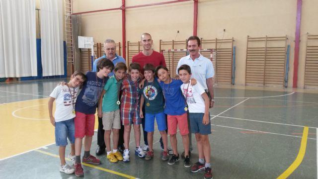 Rafa y Bolarín en la entrega de medallas al deporte del colegio Marista La Fuensanta - 1, Foto 1