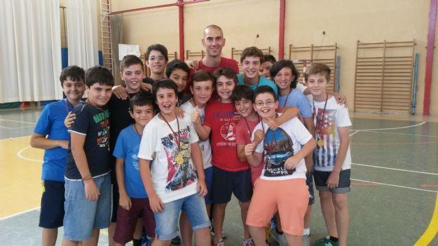 Rafa y Bolarín en la entrega de medallas al deporte del colegio Marista La Fuensanta - 2, Foto 2