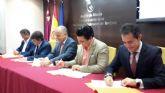 El Alcalde firma un convenio de colaboración para el desarrollo del Sistema de Información de Vivienda de la Región de Murcia