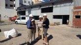 La mitad de la obra del nuevo colegio Miguel Medina de Archena ya está ejecutada