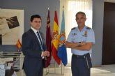 El Alcalde recibe al coronel director de la AGA, Juan Pablo Sánchez de Lara
