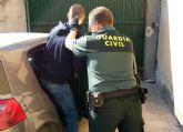 La Guardia Civil desmantela un grupo delictivo dedicado a la sustracción de fruta en Cieza