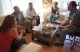 Los dos diputados del Grupo Socialista por la circunscripción número 1 del Guadalentín se ofrecen a trabajar con el Gobierno municipal
