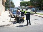 La Policía Local de Totana se adhiere a la campaña especial sobre Control y Vigilancia de Vehículos de dos Ruedas