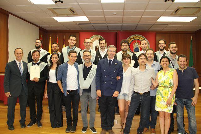El presidente de Sony Music Iberia, padrino de los alumnos del Máster de Ingeniería de Sonido y Producción Discográfica de la UCAM - 1, Foto 1