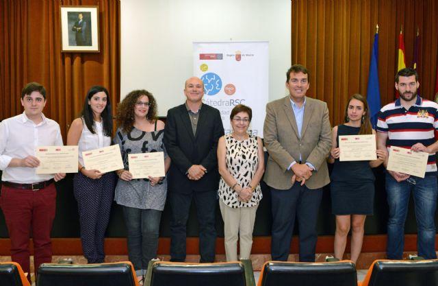 La feria del talento gana el III Premio Idea Responsable de la Universidad de Murcia - 1, Foto 1