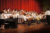 Se clausura de forma oficial el curso 2014/15 de la Escuela Municipal de Música de Totana con la audición de los alumnos de Lenguaje Musical