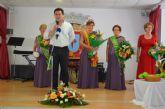 El Centro de Mayores de Santiago de la Ribera coronó a su nueva reina de las fiestas, Soledad Pérez