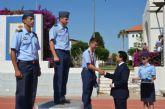 El Alcalde asiste a la clausura del Campeonato Nacional  Militar de Pentatlón Aeronáutico celebrado en la AGA