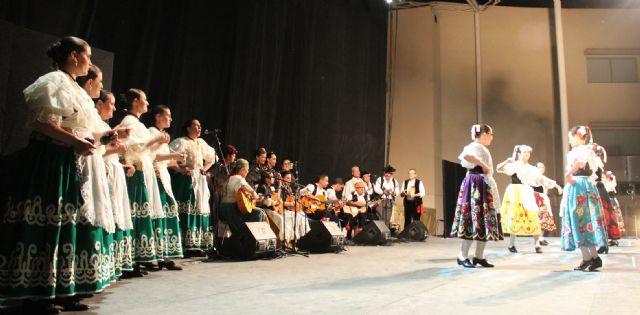 Puerto Lumbreras celebró su gran noche de folklore con grupos de Eslovenia, México, y Murcia - 3, Foto 3
