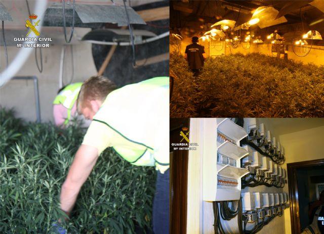 La Guardia Civil desmantela dos invernaderos clandestinos de marihuana en Murcia - 1, Foto 1