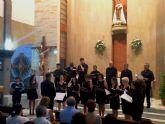 La Coral Patnia clausura el curso con un concierto en la iglesia Nuestra Señora del Carmen