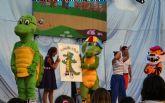El nuevo show de La Pandilla de Drilo congrega a cientos de niños en las fiestas patronales