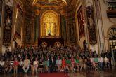 La directora de Enfermería de la Gerencia del Área VII, María José Terón, ha amadrinado a los recién graduados